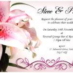 19 Wedding Invitation Cards Templates Designs Images For Sample Wedding Invitation Cards Templates