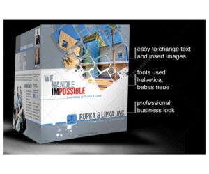2 Pages Corporate Brochure Template For Construction with Engineering Brochure Templates