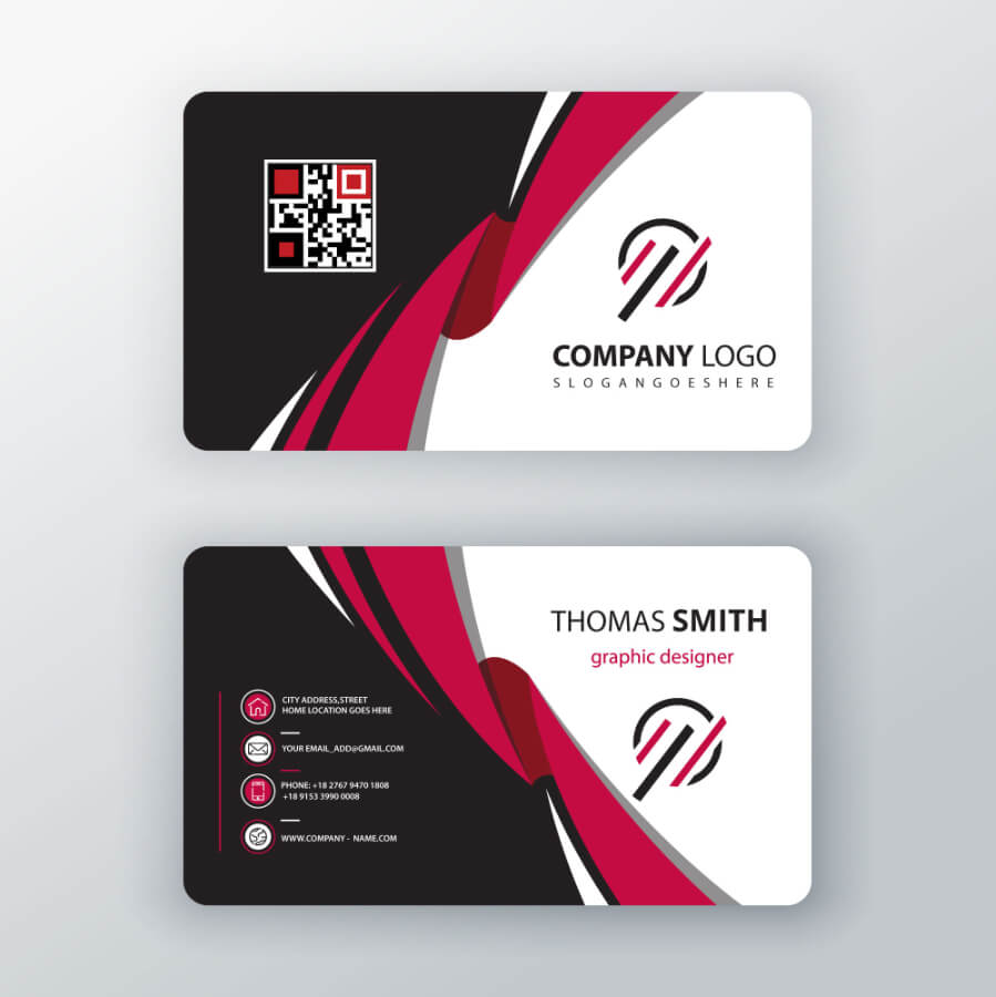 2 Sided Business Cards | Free Download - Graphicdownloader Regarding 2 Sided Business Card Template Word