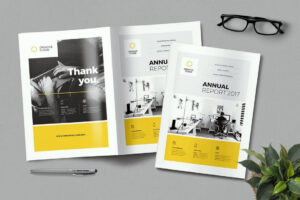 20+ Annual Report Templates (Word & Indesign) 2018 in Annual Report Word Template