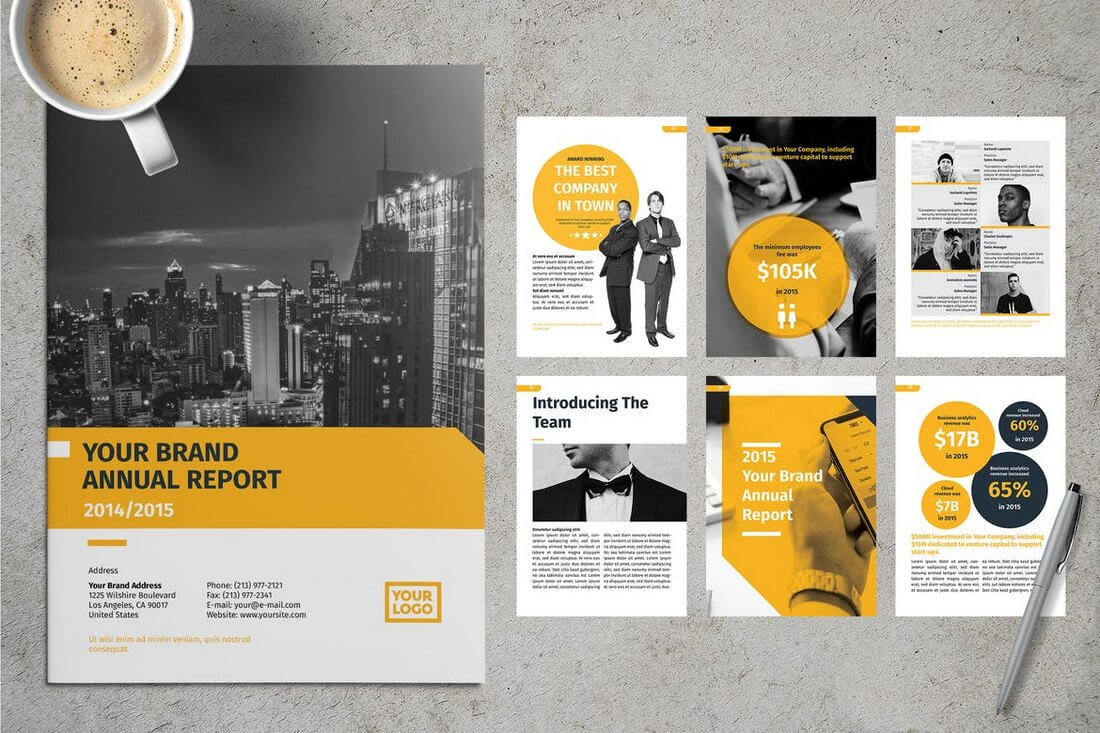 20+ Annual Report Templates (Word & Indesign) 2019 Within Annual Report Word Template