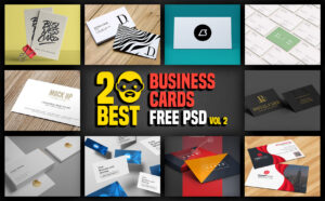 20 Best Business Cards Free Psd Vol 2 | Psddaddy intended for Business Card Maker Template