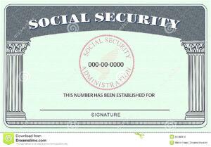 20+ Blank Social Security Card Template inside Blank Social Security Card Template Download