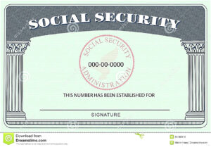 20+ Blank Social Security Card Template Pertaining To Social Security Card Template Download