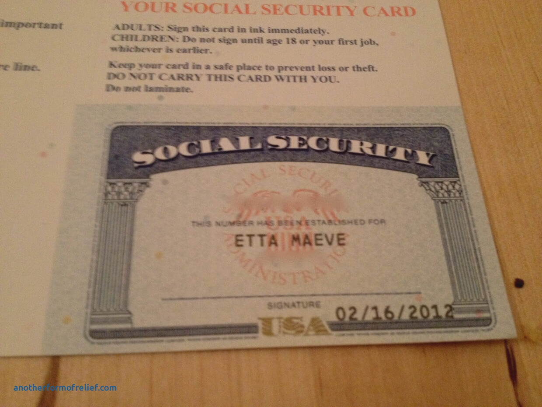 20+ Blank Social Security Card Template Regarding Blank Social Security Card Template