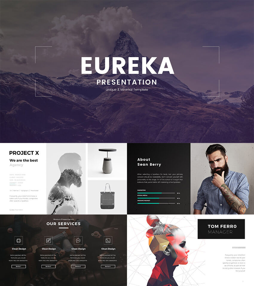 20+ Creative Powerpoint Templates – For Presenting Your With Regard To Powerpoint Photo Slideshow Template