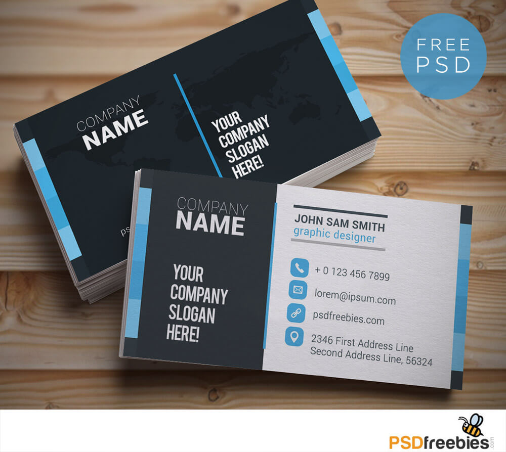 20+ Free Business Card Templates Psd - Download Psd With Download Visiting Card Templates