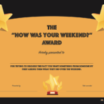 20 Hilarious Office Awards To Embarrass Your Colleagues With Funny Certificate Templates