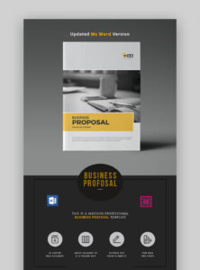 20 Ms Word Business Proposal Templates To Make Deals In 2019 in Free Business Proposal Template Ms Word
