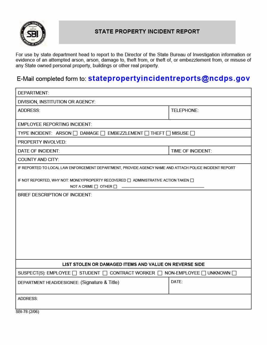 20+ Police Report Template & Examples [Fake / Real] ᐅ Intended For Fake Police Report Template