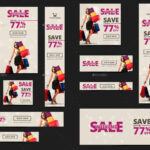 20 + Printable Product Sale Banners – Psd, Ai, Eps Vector With Product Banner Template
