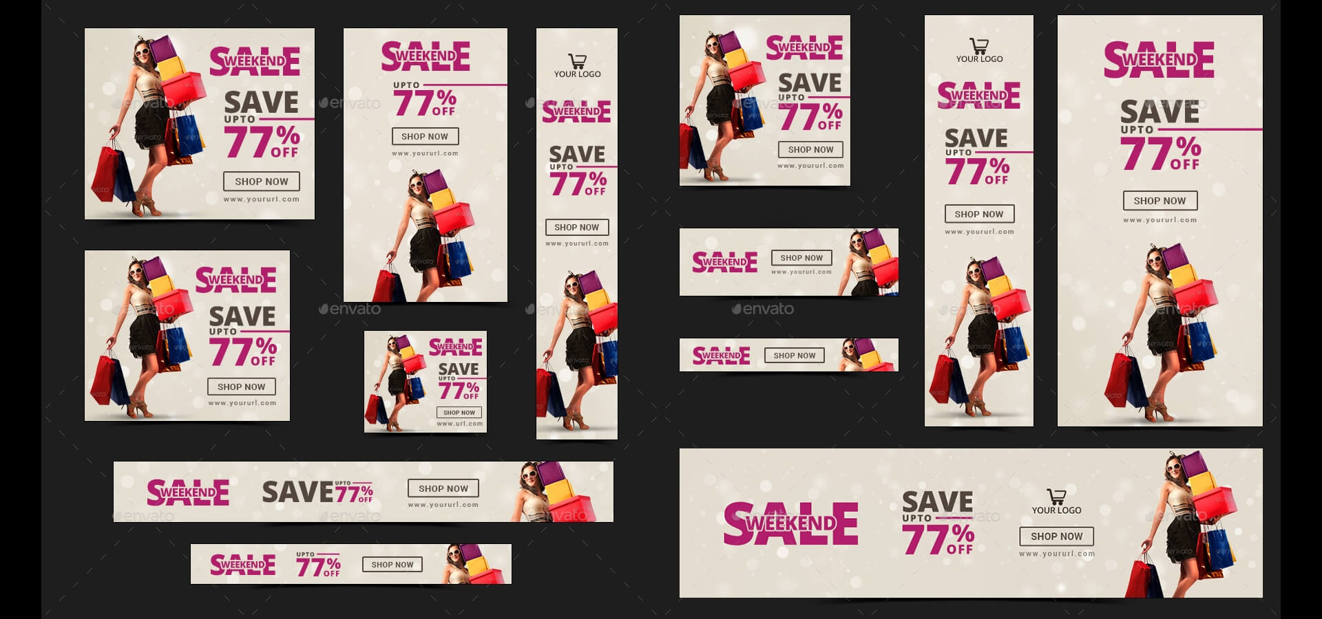 20 + Printable Product Sale Banners - Psd, Ai, Eps Vector with Product Banner Template