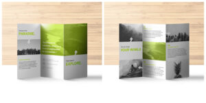 20+ Professional Trifold Brochure Templates, Tips & Examples within Fancy Brochure Templates