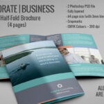 20 Single Fold Brochure Templates Intended For Half Page Brochure Template