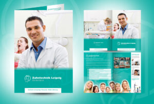 20 Well Designed Examples Of Medical Brochure Designs with Medical Office Brochure Templates