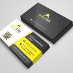 200 Free Business Cards Psd Templates – Creativetacos For Template Name Card Psd