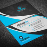 200 Free Business Cards Psd Templates – Creativetacos Intended For Psd Visiting Card Templates