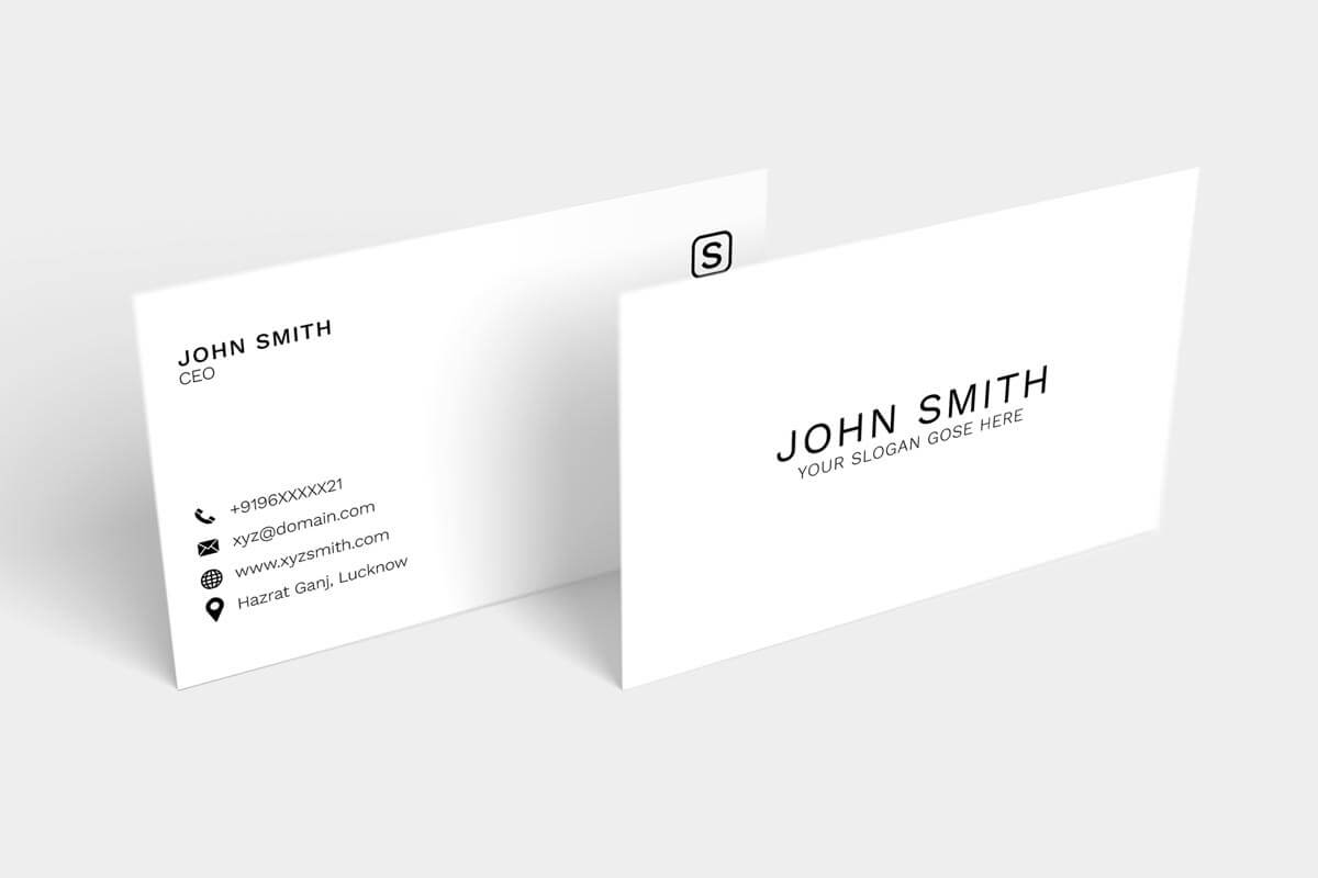 200 Free Business Cards Psd Templates - Creativetacos Pertaining To Name Card Template Photoshop