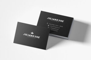 200 Free Business Cards Psd Templates – Creativetacos with Name Card Design Template Psd