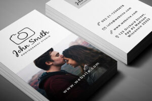 200 Free Business Cards Psd Templates – Creativetacos with regard to Free Business Card Templates For Photographers