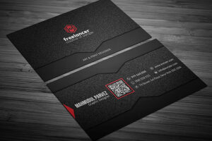 200 Free Business Cards Psd Templates – Creativetacos with regard to Name Card Template Psd Free Download