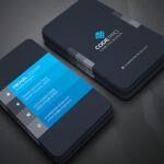 200 Free Business Cards Psd Templates – Creativetacos With Regard To Photoshop Name Card Template
