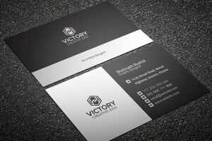 200 Free Business Cards Psd Templates – Creativetacos with Template Name Card Psd