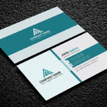 200 Free Business Cards Psd Templates - Creativetacos within Name Card Photoshop Template