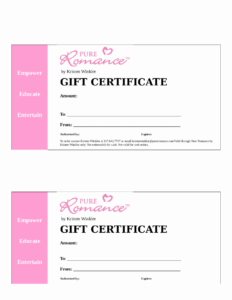 2018 Gift Certificate Form Fillable Printable Pdf intended for Fillable Gift Certificate Template Free