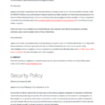2019 Free Privacy Policy Template Generator Intended For Credit Card Privacy Policy Template