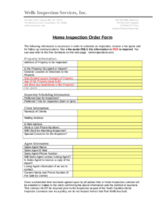2019 Home Inspection Report – Fillable, Printable Pdf throughout Home Inspection Report Template