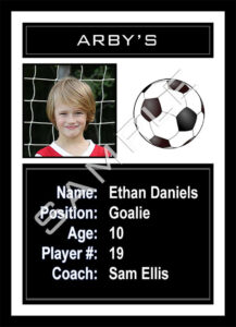 2019 Soccer Sports Trader Card Template For Photoshop Simply Soccer intended for Soccer Trading Card Template
