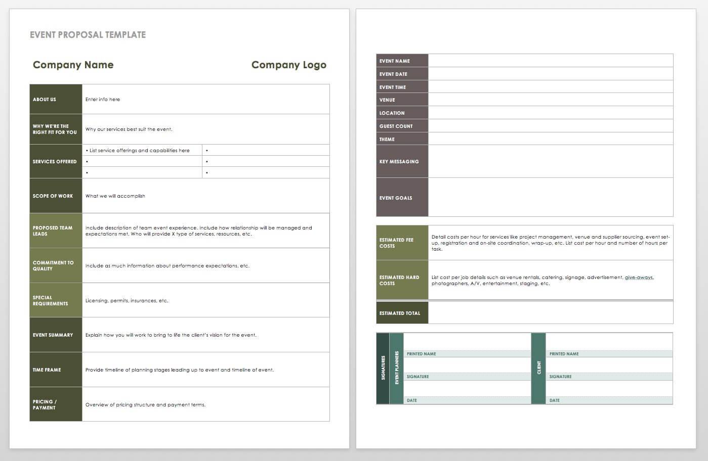 21 Free Event Planning Templates | Smartsheet Within Wrap Up Report Template