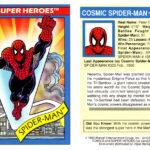 Superhero Trading Card Template