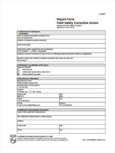 22 Corrective Action Form Example within Corrective Action Report Template