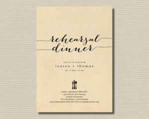 23 Business Invitation Designs & Examples Psd Ai regarding Free Dinner Invitation Templates For Word
