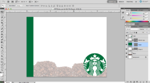 23 Images Of Starbuck Blank Template | Elcarco within Starbucks Powerpoint Template