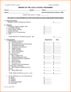 24 Images Of Team Treasurer Report Template | Evreneter in Treasurer Report Template