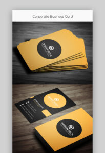 24 Premium Business Card Templates (In Photoshop for Create Business Card Template Photoshop