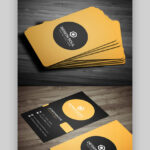 24 Premium Business Card Templates (In Photoshop Intended For Visiting Card Templates For Photoshop