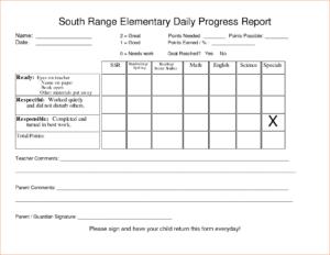 25 Amazing Student Progress Report Template – Sampletemplate.co within Student Progress Report Template