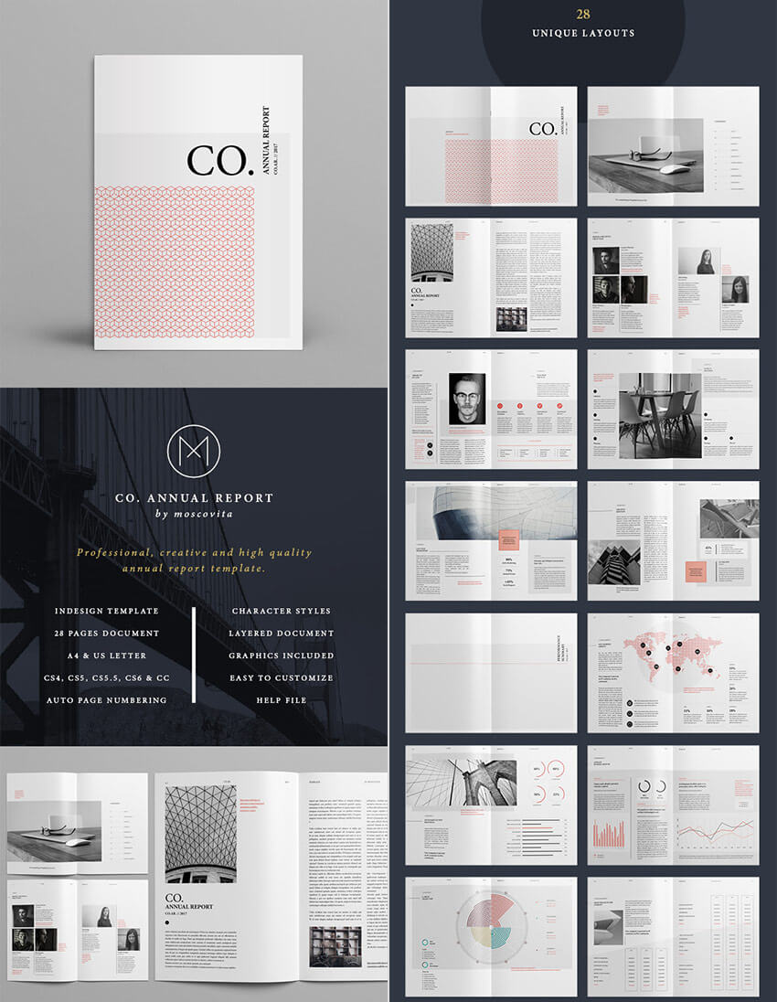 25+ Annual Report Templates - With Awesome Indesign Layouts Inside Free Annual Report Template Indesign