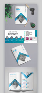 25+ Annual Report Templates – With Awesome Indesign Layouts intended for Illustrator Report Templates