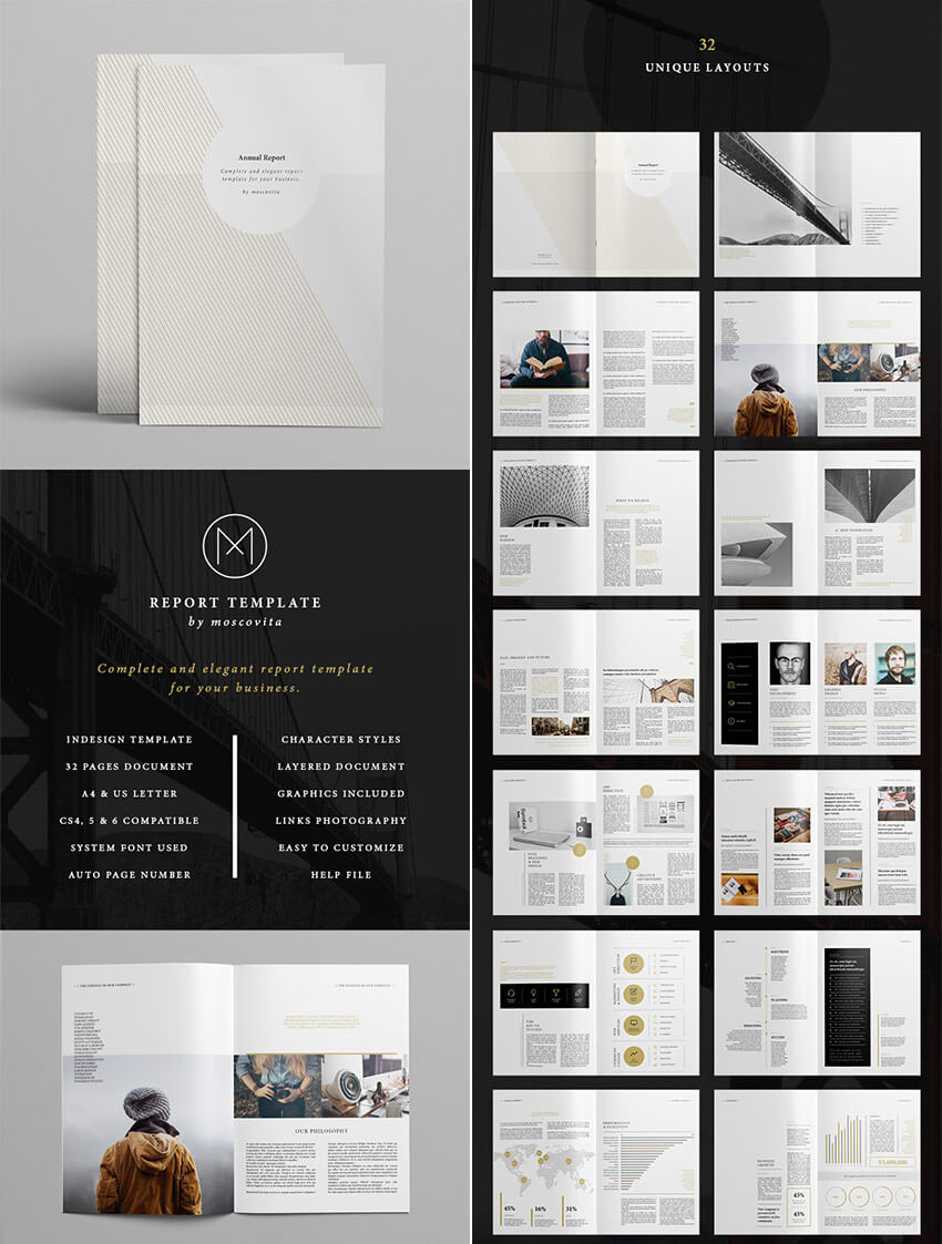 25+ Annual Report Templates – With Awesome Indesign Layouts Pertaining To Free Indesign Report Templates