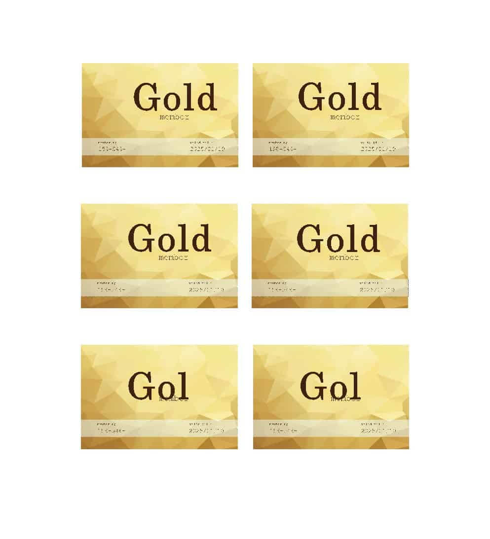 25 Cool Membership Card Templates & Designs (Ms Word) ᐅ Regarding Membership Card Template Free
