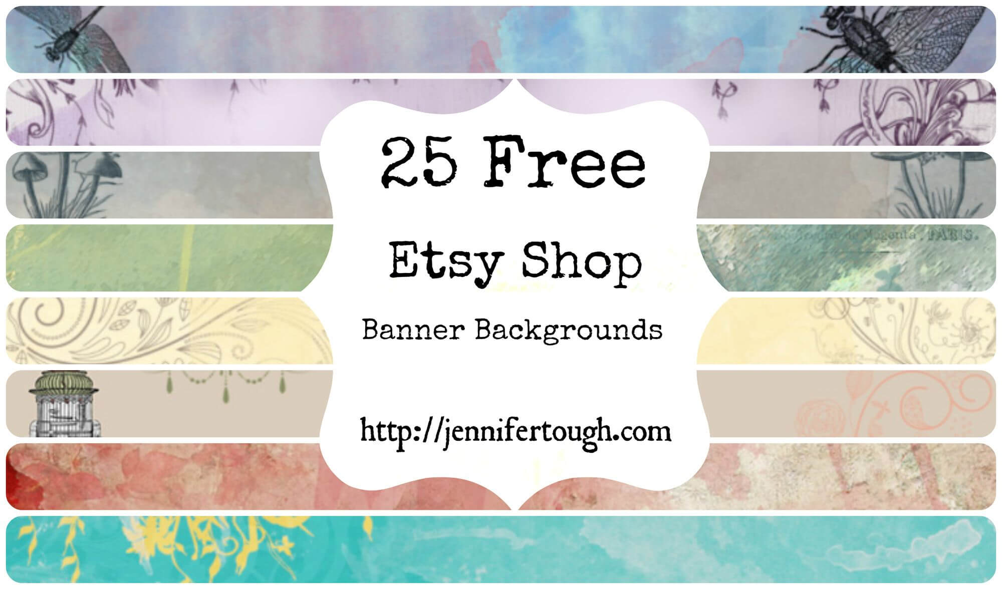 25 Free Etsy Banner Backgrounds! | Business Stuff | Etsy Pertaining To Free Etsy Banner Template