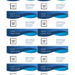 25+ Free Microsoft Word Business Card Templates (Printable With Regard To Ms Word Business Card Template