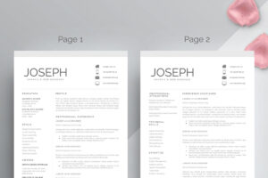 25+ Free Resume Templates For Microsoft Word (That Don't within Microsoft Word Resume Template Free