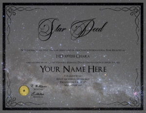 25 Images Of Name A Star Certificate Template | Bfegy for Star Naming Certificate Template