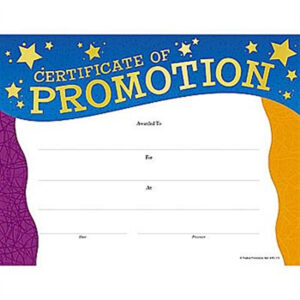 25 Images Of Printable Promotion Certificate Template with regard to Promotion Certificate Template